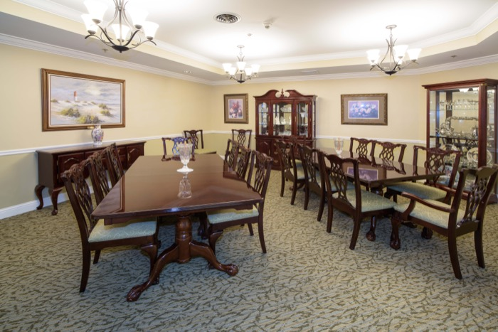 Private Dining Room Independent Living For Seniors In St